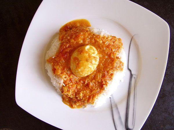 South Indian egg curry | Südindisches Ei-Curry #vegetarian #vegetarisch #Rezept
