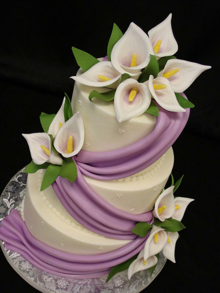 Lily Rose Cake Design : 17 Best ideas about Calla Lily Cake on Pinterest Oval ...