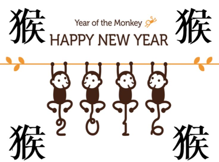 Creative Chinese – Year Of The Monkey Poster