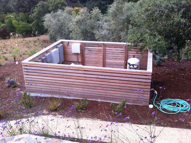 Pool Equipment Pump Box Shed Enclosure Pool Equipment