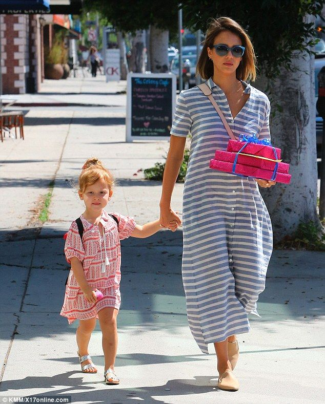 Actress, businesswoman, and mother: Jessica Alba took time out of her busy schedule for qu...