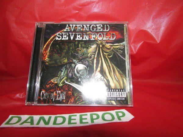 Avenged Sevenfold City Of Evil Music CD PA #AvengedSevenfold #A7X #CityOfEvil #CD #Music #dandeepop