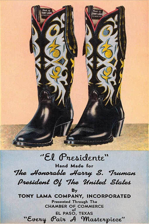 Quot El Presidente Quot Cowboy Boots Hand Made For President