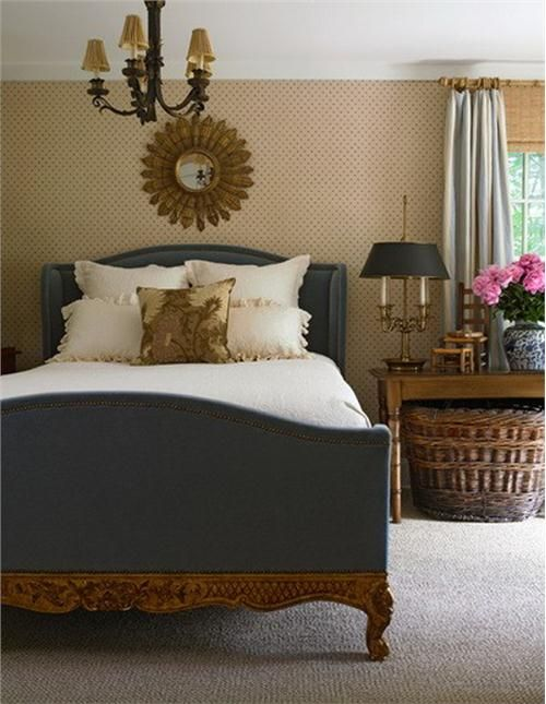 Transitional (Eclectic) Bedroom by Susan Anthony