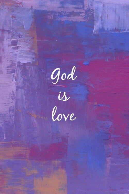 Deus é amor. …