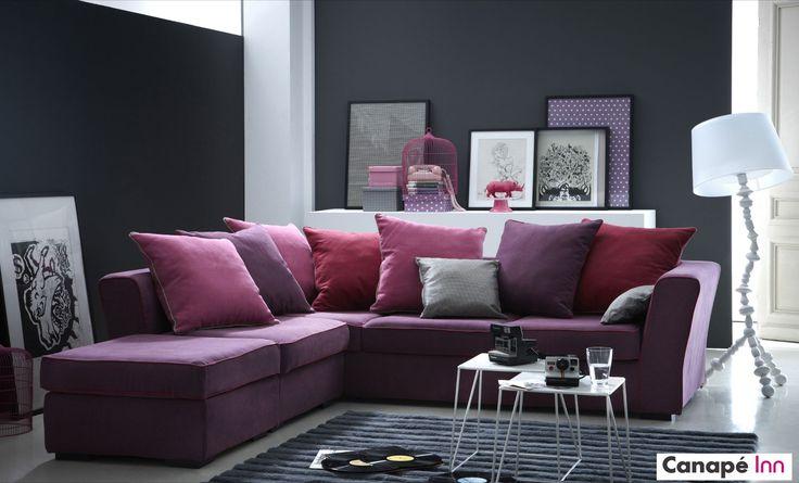 Optez pour le charme du canapé d'angle Watson à installer dans votre salon. À découvrir sur Canapé Inn