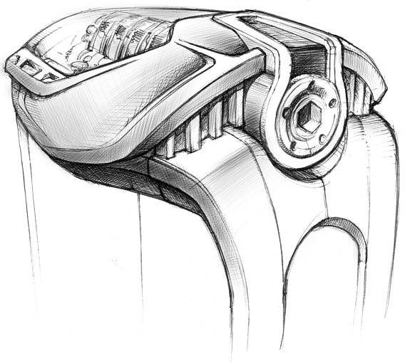 La Cote des Montres : La montre Hublot Masterpiece MP-05 « LaFerrari » - Montre, voiture : La MP-05 « LaFerrari » a été complètement développée - au niveau technique et design - en parallèle de la voiture avec les équipes de Ferrari