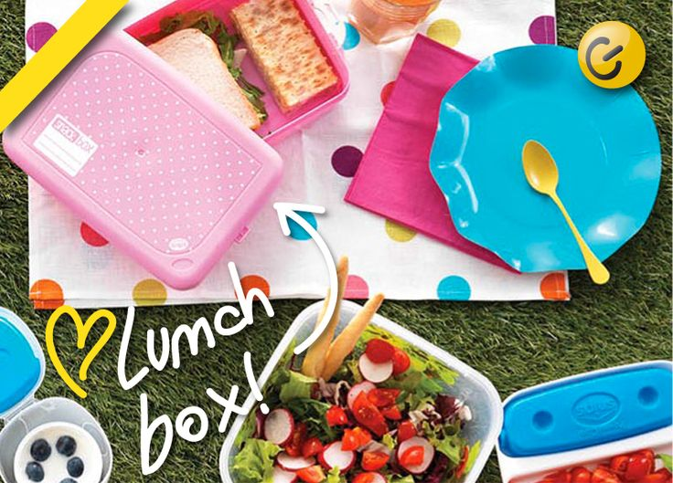 Pratico contenitore ermetico, ideale come #box porta #merenda o #pranzo per adulti e bambini