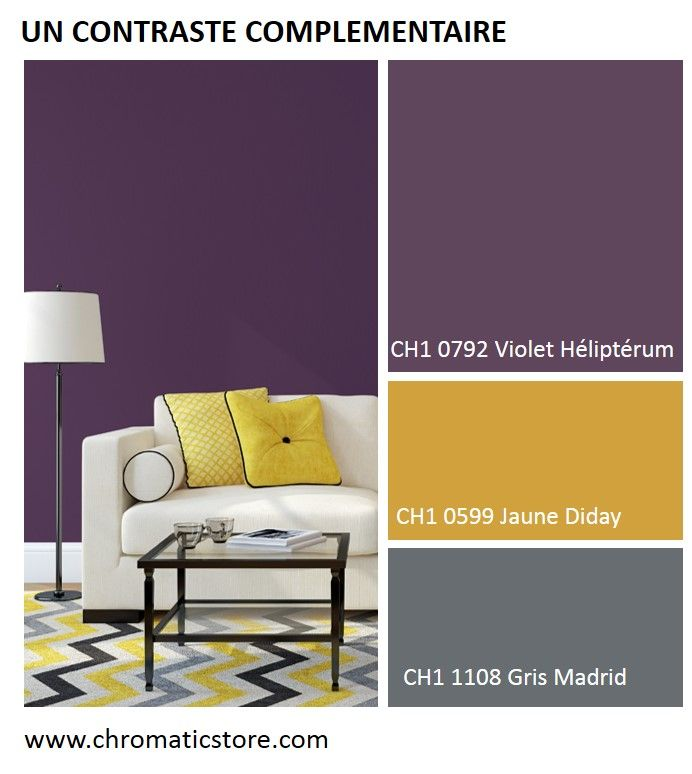 les 25 meilleures id es concernant murs violets sur. Black Bedroom Furniture Sets. Home Design Ideas