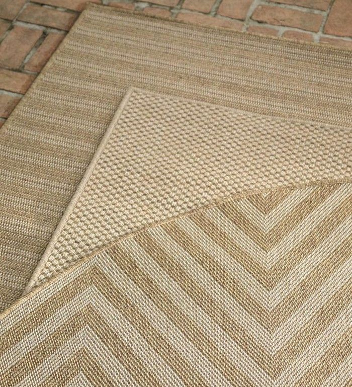 Modern outdoor rugs from rattan