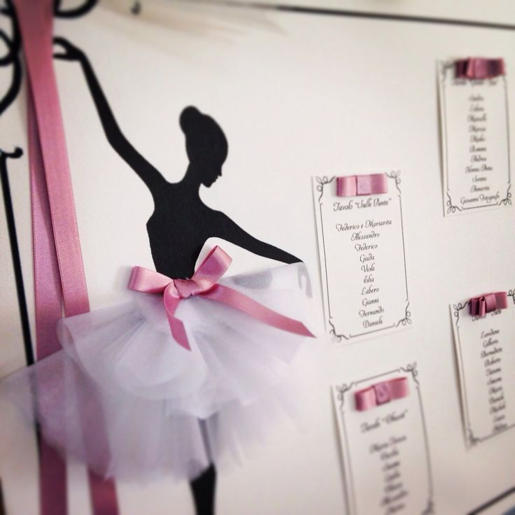 Tableau per una bellissima ballerina