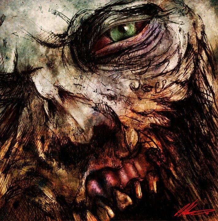 EPIC Zombie art.