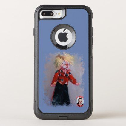 Clown/Pallaso/Clown OtterBox Commuter iPhone 8 Plus/7 Plus Case  $73.85  by Dopico  - cyo diy customize personalize unique