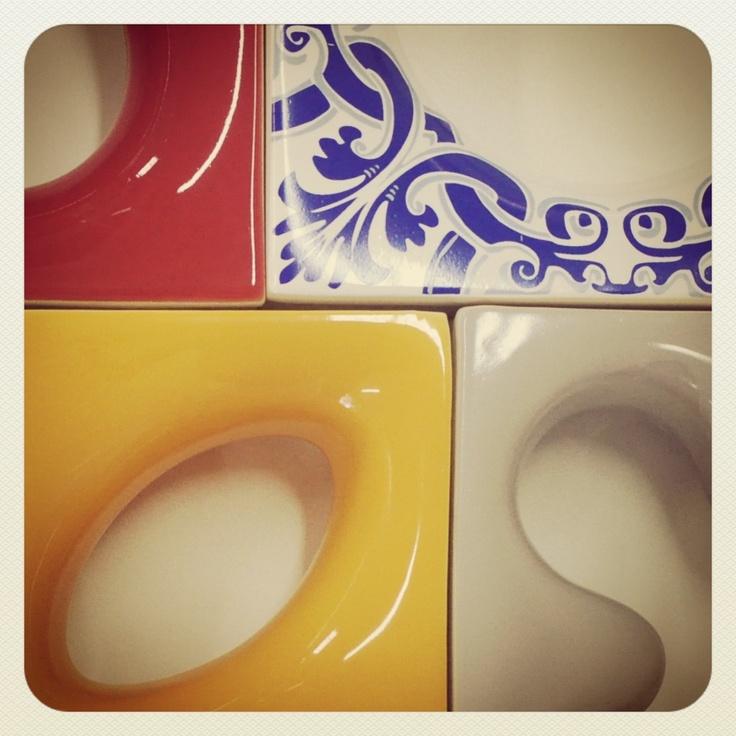 """Cobogós de ceramica branca esmaltados!!! Nós criamos produzimos e comercializamos os """" melhores cobogós do mercado"""" .  www.elementov.com.br"""