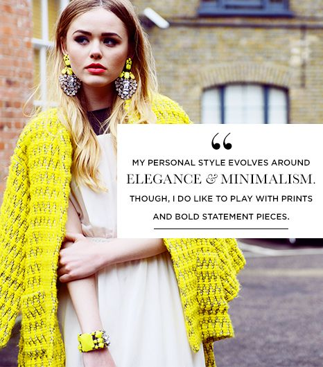This quote embodies the essence of Type 4 style perfectly! From Swiss beauty and style blogger, Kristina Bazan.