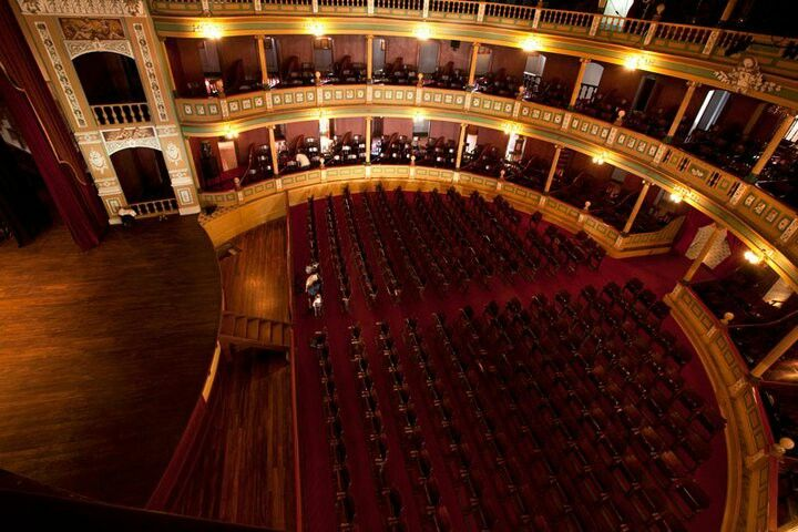 Patio de butacas de la sala del teatro nacional de santa for Sala 0 teatro sevilla