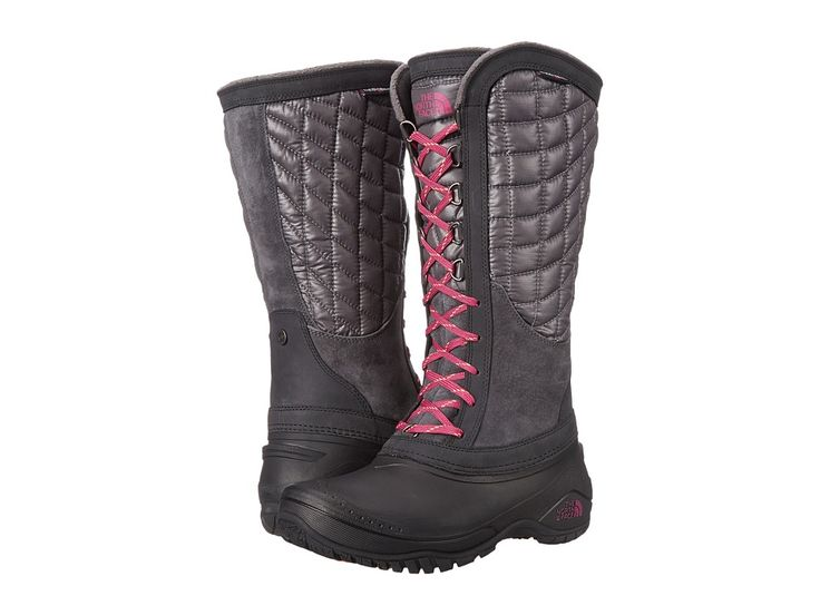 THE NORTH FACE THE NORTH FACE - THERMOBALLTM UTILITY (PLUM KITTEN GREY/RADIANCE PURPLE) WOMEN'S BOOTS. #thenorthface #shoes #
