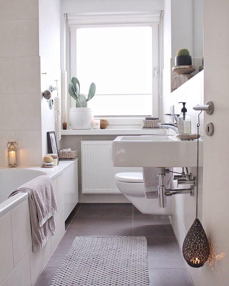 Dieses Badezimmer ist einfach nur WOW! Wunderschöne Fliesen, einzigartige Dekoration & ganz viel Tageslicht sorgen für das gewissen Etwas. Die Stump…