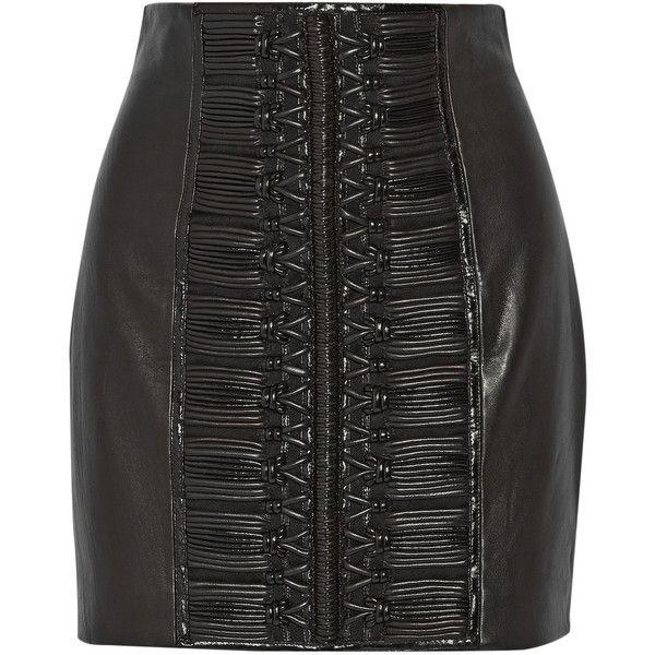 Best 25  Leather mini skirts ideas on Pinterest | Leather skirt ...