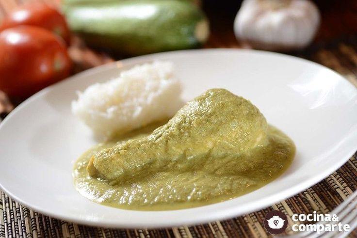 Un mole verde tradicional delicioso fácil de preparar, para cualquier ocasión.