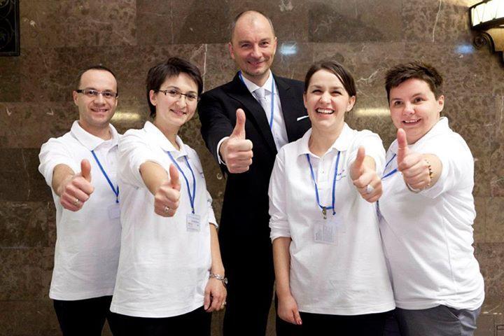 wolontariat wolontariusze Lyreco na wielkiej gali integracji pawel ornatek