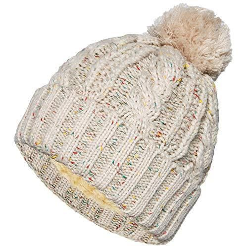 f91813c79 Senker Womens Winter Thick Cable Knit Faux Fur Pom Beanie Hat Warm ...