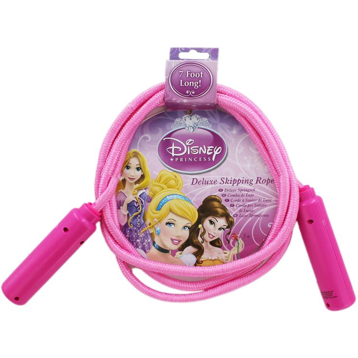Buy Disney Princess Deluxe Skipping Rope  online from The Works. Visit now to browse our huge range of products at great prices.