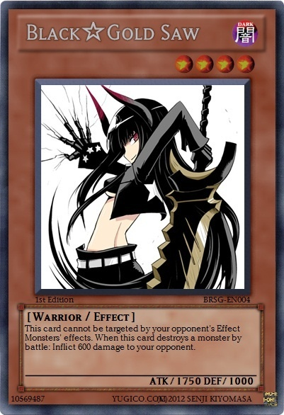 black gold saw custom yugioh card yugioh pinterest. Black Bedroom Furniture Sets. Home Design Ideas