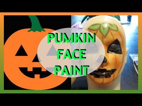 Faccia da zucca facile per trucco Halloween - VideoTrucco