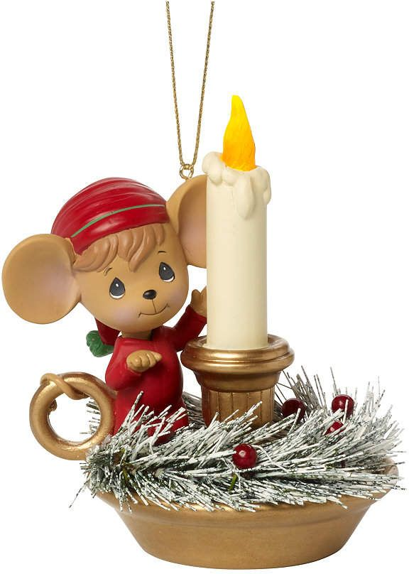 Making Spirits Bright Lighted Ornament