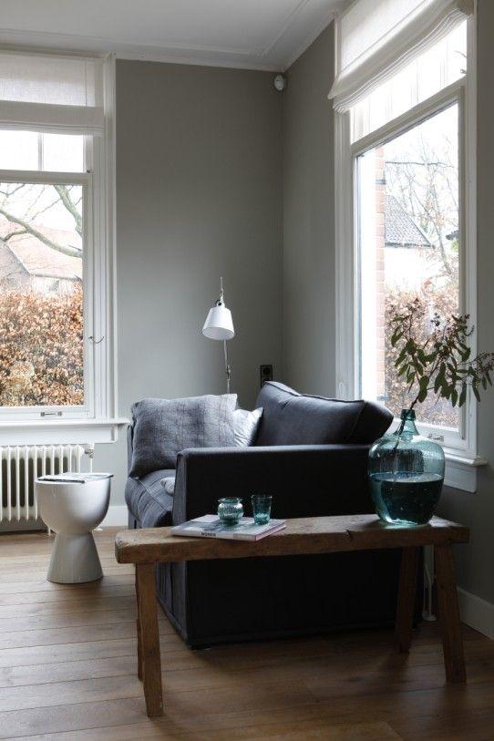 25 beste idee n over grijze muren op pinterest muurverf kleuren bevloerings opties en - Grijze wand taupe ...