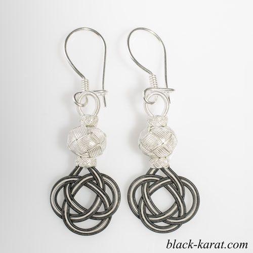 Kazaziye earrings Hurrem sultan style http://black-karat.com/