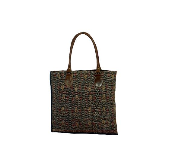 Vintage One Of Kind Gypsy Kantha Banjara Tote Bag by MyCraftPalace