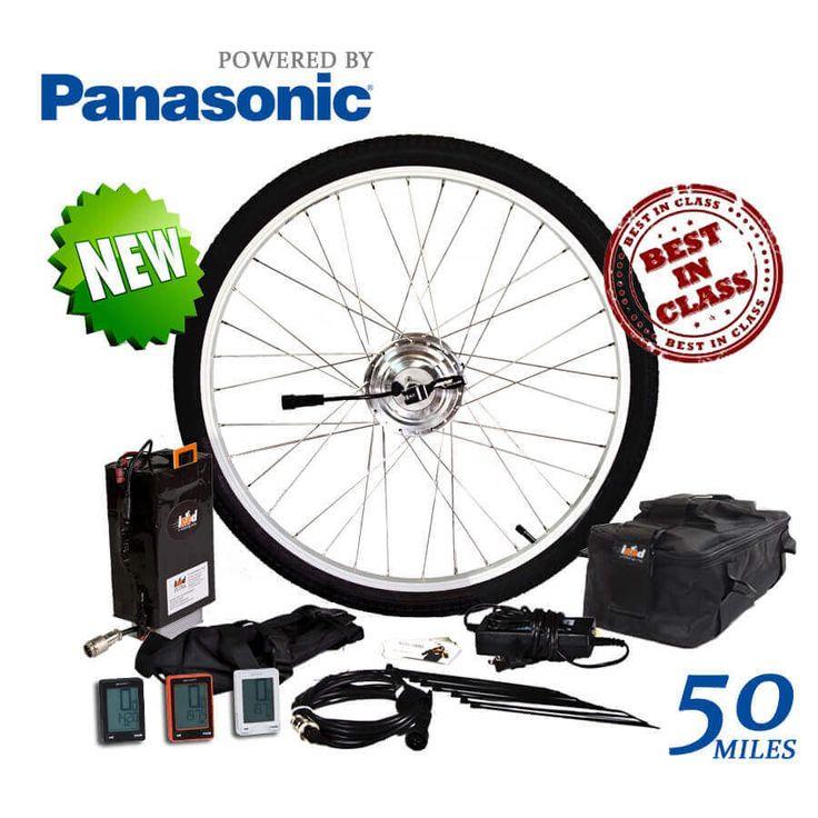 24 Volt Electric Bike Kit | 25.6 AH Panasonic Ultra Kit