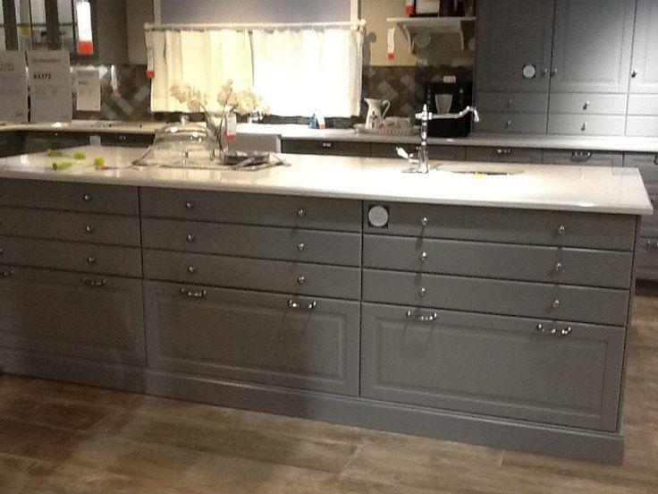 ikea kitchen pics bodbyn grey