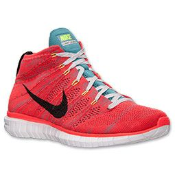 <p>Cloud-like comfort meets rock-solid stability and lightweight construction in the Men's Nike Free Flyknit Chukka Running Shoes, designed for those with an appetite for success.  Built with a breathable Flyknit upper and flexible Nike Free sole underfoot, the Free Flyknight Chukka combines a bold look with premium comfort in a mid-cut profile.</p>  <p>Whether you're heading out for 10 miles or just a quickie during your lunch break, your feet will breathe easy thanks to the Flyknit upper…