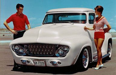 """is the """"dream truck"""" the only all out custom 50s truck ? 