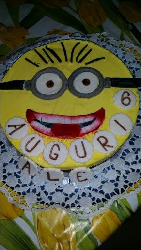 Cheesecake minion