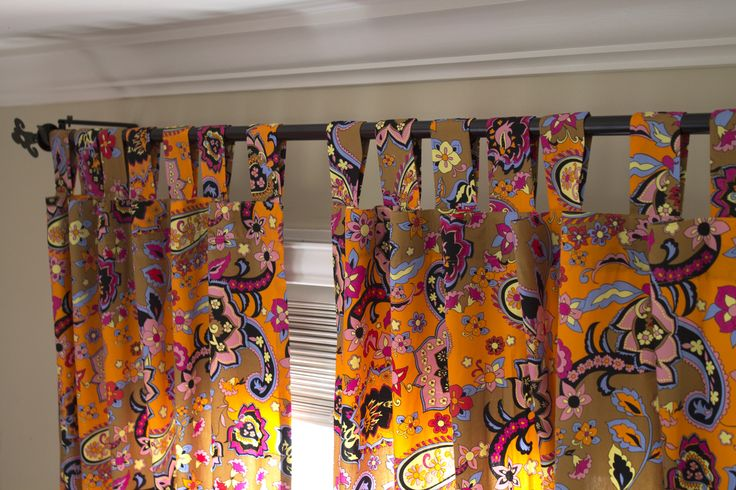How to Make Tab-Top Curtains