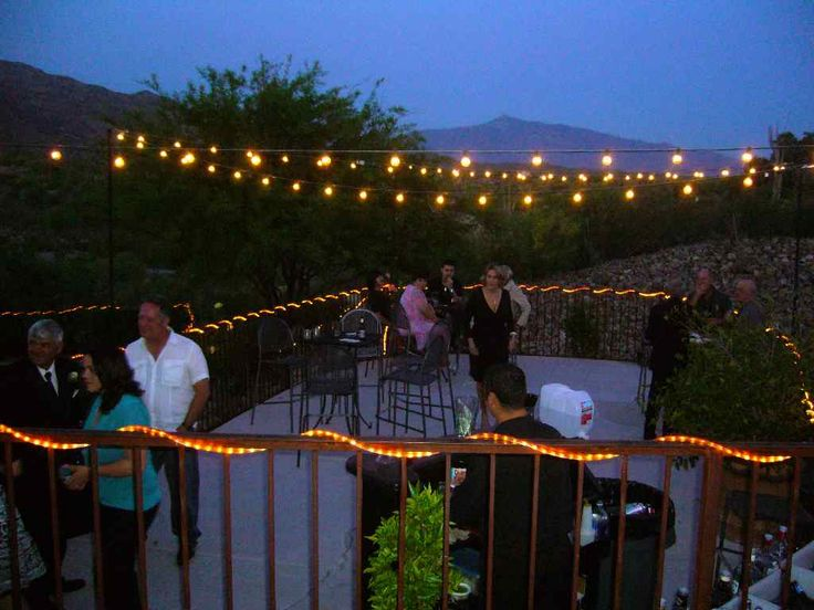 10 best deck ideas images on pinterest - Patio String Light Ideas