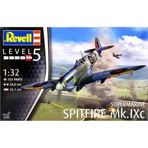 Maquette 1/32 - Supermarine Spitfire Mk.IXc - REVELL
