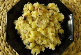 Jak uvařit halušky s uzeným a kyselým zelím   recept