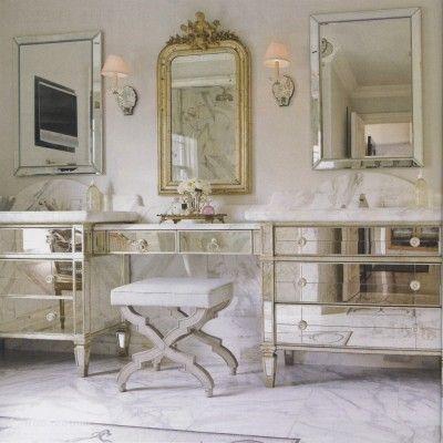 letti barocco moderno mobili per il lavabo del bagno decorazioni ...
