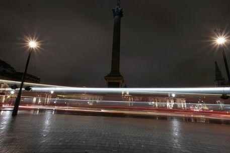 'Trafalgar Square in London' von stephiii bei artflakes.com als Poster oder Kunstdruck $15.68
