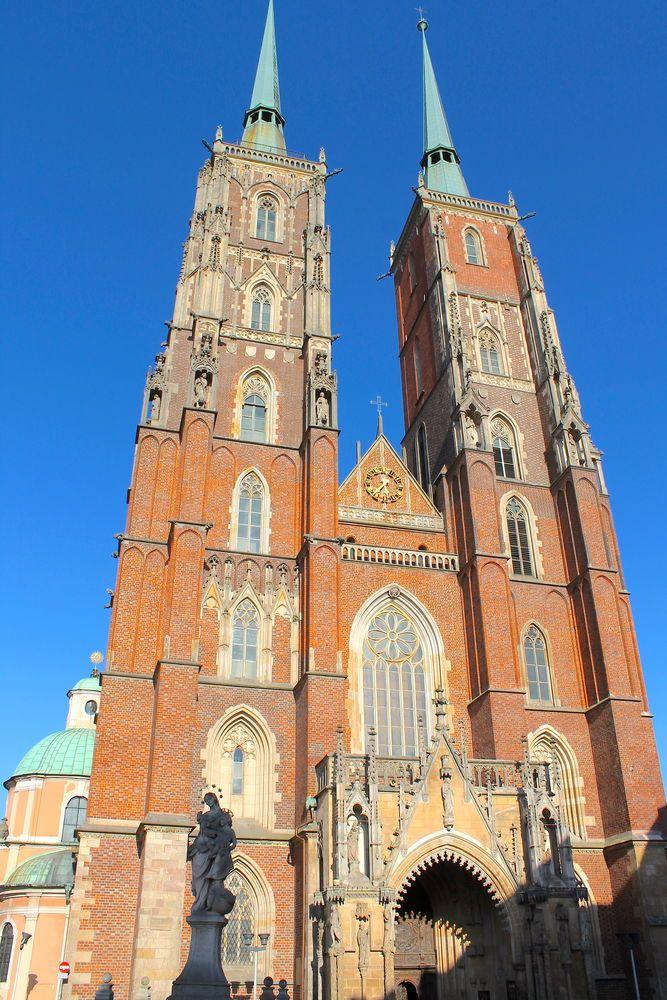 Archikatedra Jana Chrzciciela - Ostrów Tumski Wrocław