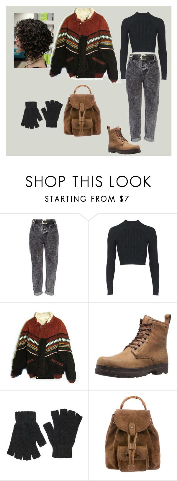"""""""Sans titre #151"""" by marion-lambert-perso on Polyvore featuring mode, River Island, Topshop, Camper, Forever 21 et Gucci"""
