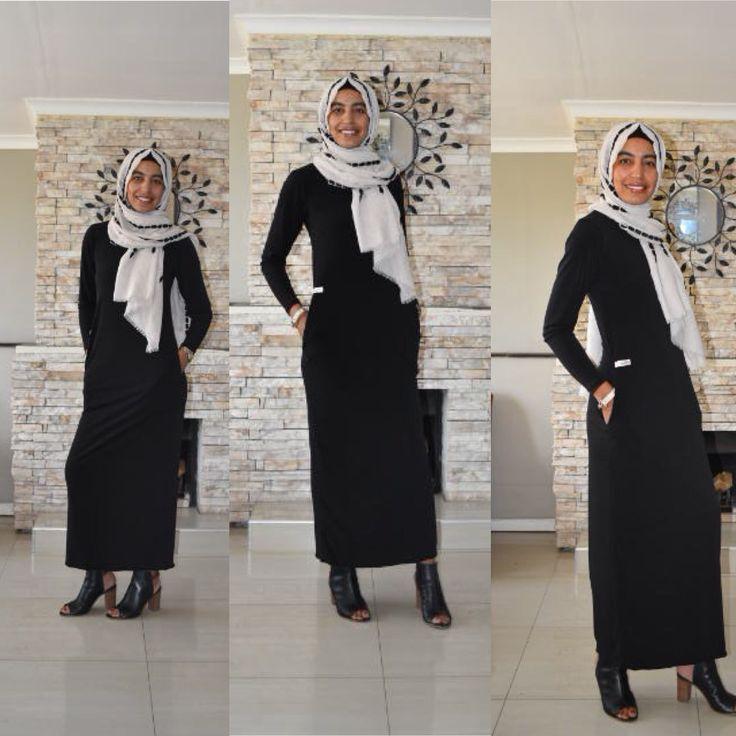 Essential dress www.fabulousinhijab.co.za