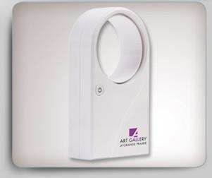 Busrel-BRB-1413  Ventilateur personnel   Ventilateur blanc de bureau sans hélices  • Câble USB fourni  • Fonctionne avec 4 piles AAA (non incluses)  • Boîte individuelle  http://www.creatchmanpromo.ca/