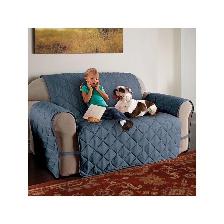 Sofa Sale Innovative Textile Solutions Microfiber Ultimate XL Sofa Protector Blue