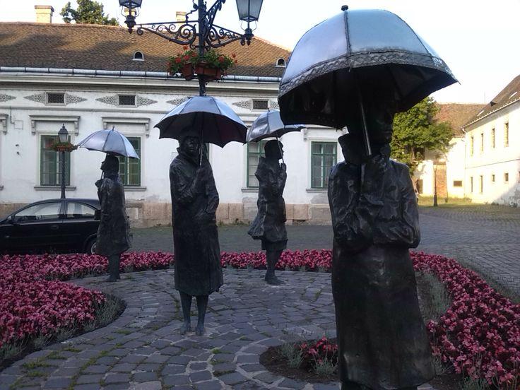 WAITERS BY IMRE VARGA, BUDAPEST, HUNGARY
